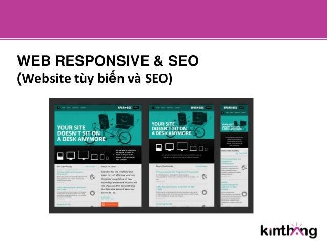 WEB RESPONSIVE & SEO(Website tùy biến và SEO)