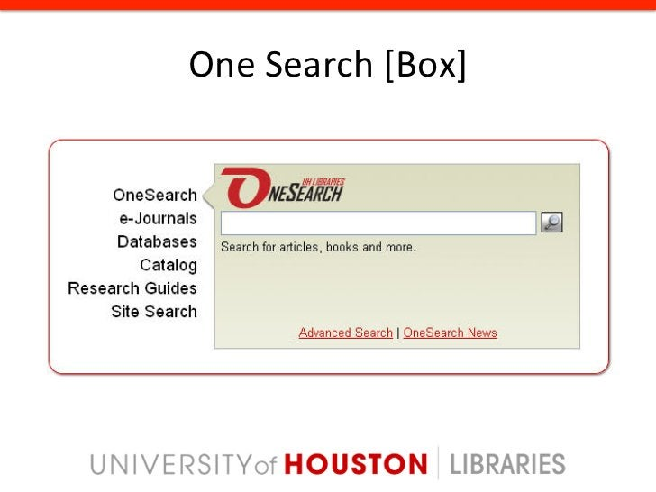 Organiza8onal Change New library department created: Resource Discovery Systems (RDS)  RDS has r...
