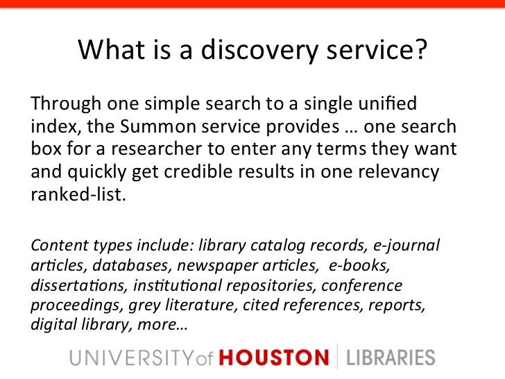 Pathway to Discovery •   Metafind •   LibraryFind •   ResearchPro •   Encore