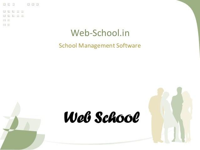 Web-School.in School Management Software