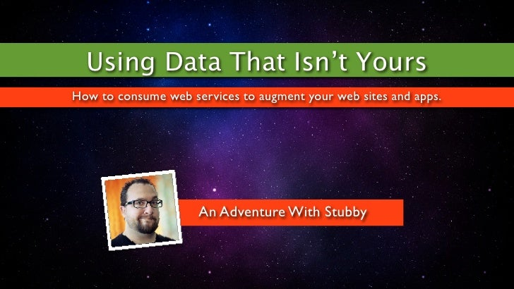 Using Data That Isn't YoursHow to consume web services to augment your web sites and apps.                     An Adventur...