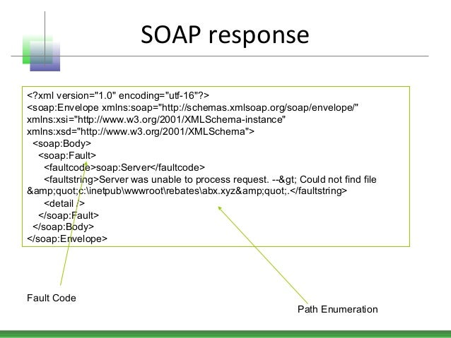 These Errors E Back As Soap Fault Messages With Response Code 500 Fail Generate A Custom Error Message Which Includes The Following Fields At