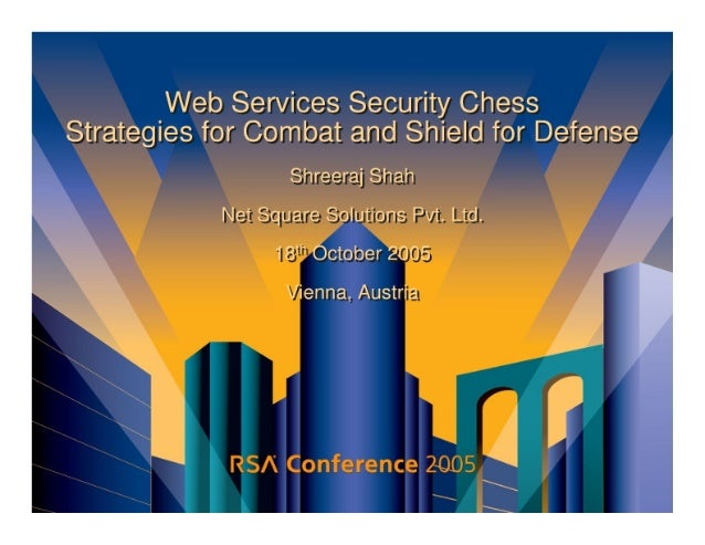 Web Services Security Chess (RSA)