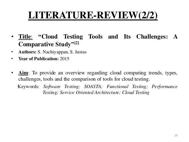 literature review software testing Literature review of software testing dan anak itu taklain adalah saya sendiri essay on my ideal birthday present.