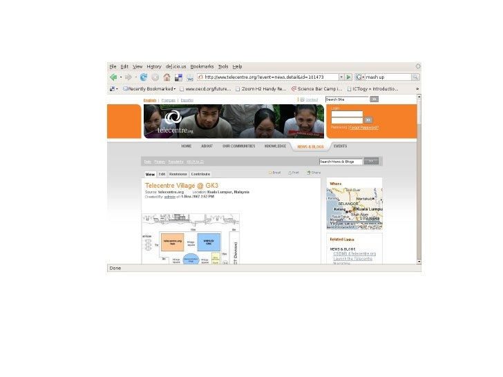 web thinking tour for I-BOP project
