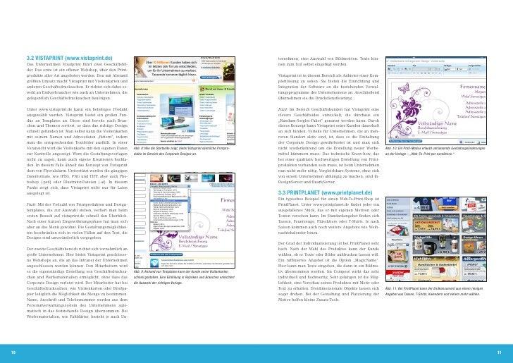 Web To Print Fortschrittsberichte Der Hdm Stuttgart 10 2011