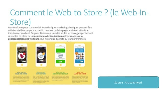 Web to-store- geolocalisation et personnalisation