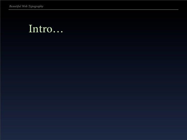 Beautiful Web Typography (#5) Slide 3