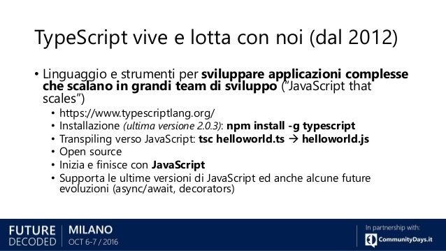 da javascript a typescript