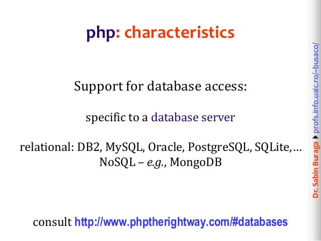 Web technologies 4 12 web application development in php for Mongodb consul