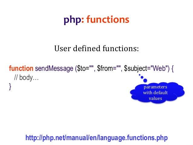 php web application development pdf