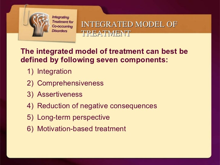 An Introduction to Integrated Treatment