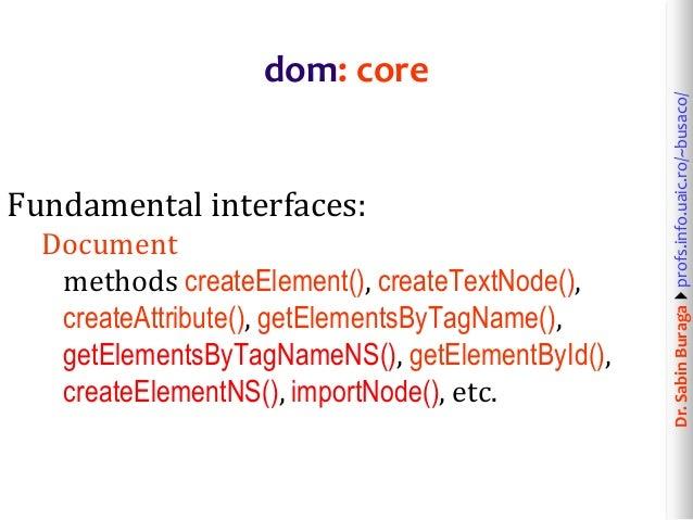 Web Technologies (7/12): XML & HTML Data Processing