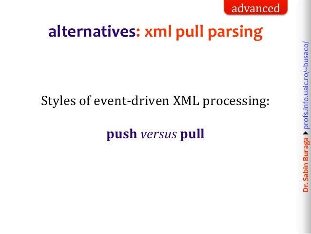 Web Technologies (8/12): XML & HTML Data Processing  Simple