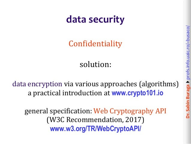 Web Technologies (12/12): Web Application Security