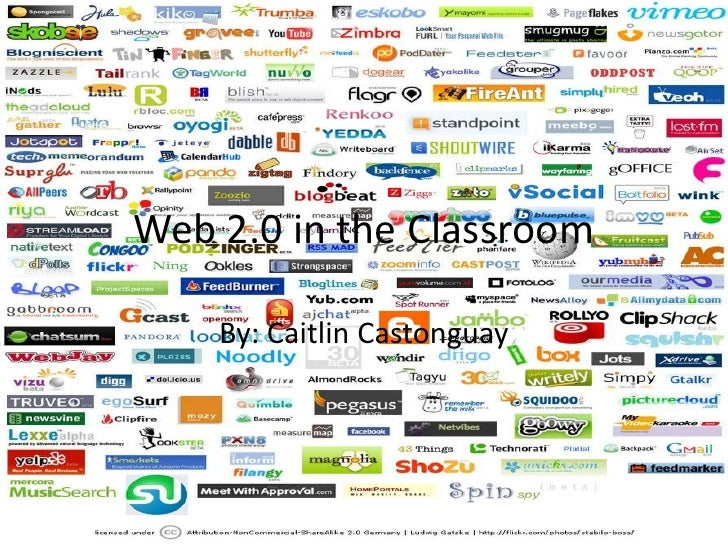 Web 2.0 in the Classroom <br />By: Caitlin Castonguay <br />