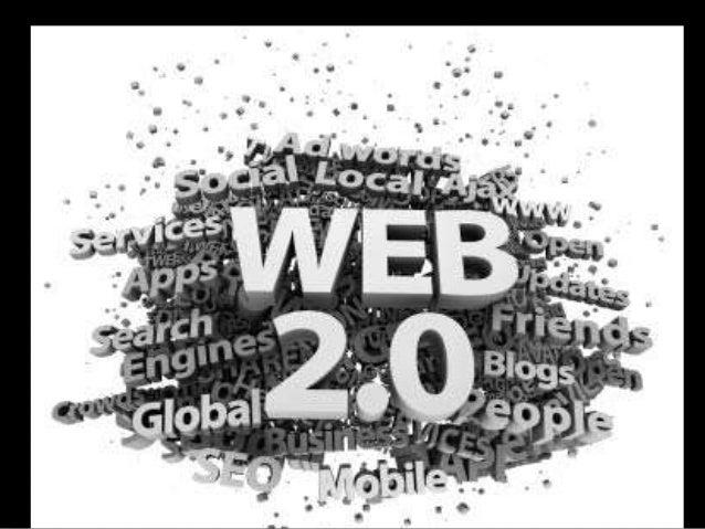 Les aplicacions 2.0 són tots aquells serveis i utilitats quepermeten als usuaris:• Afegir, canviar o esborrar informació• ...