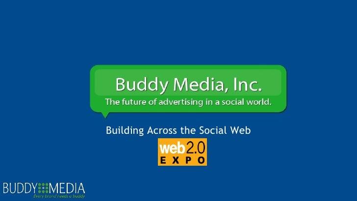 Building Across the Social Web
