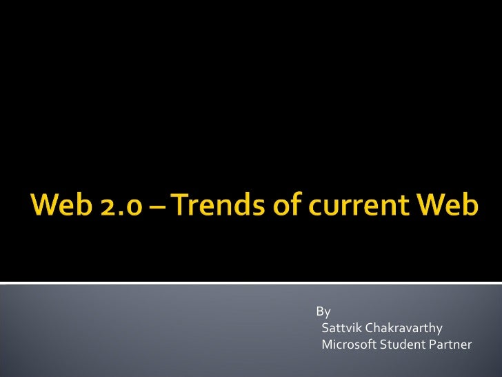 By Sattvik Chakravarthy Microsoft Student Partner