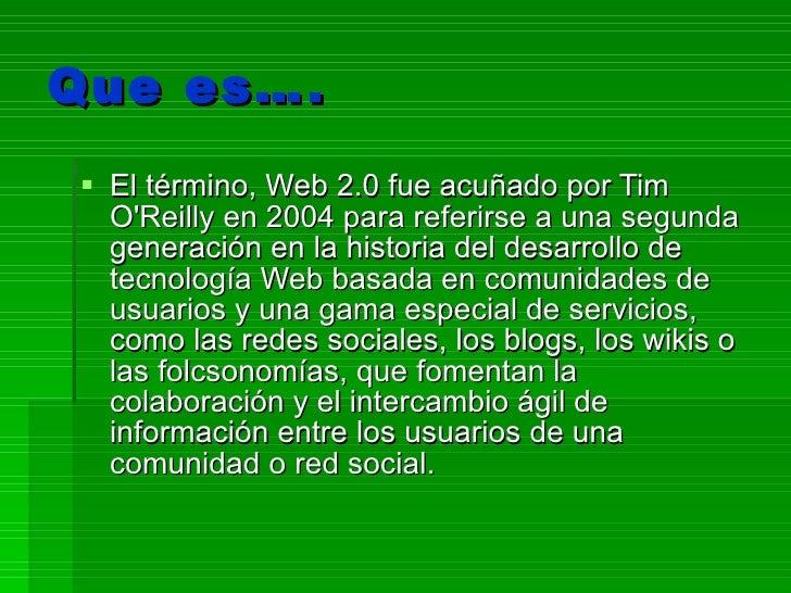Web 2 Slide 2