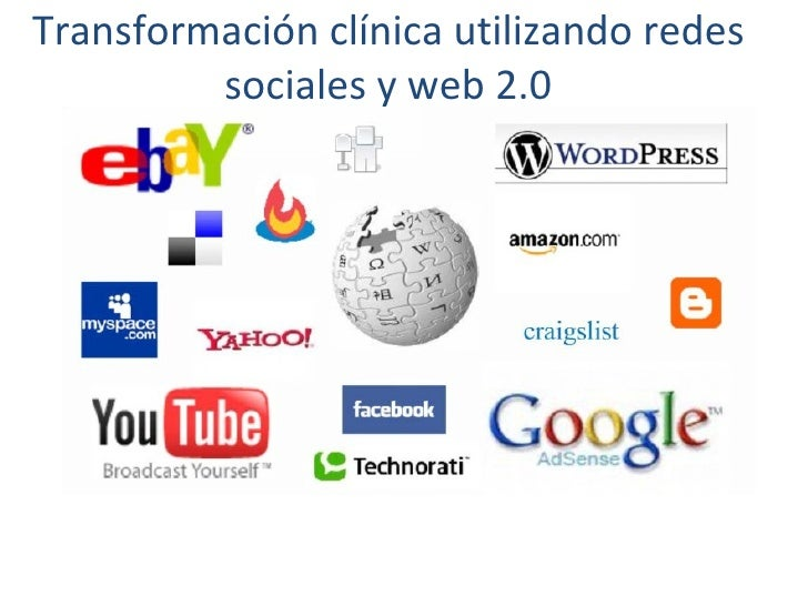 Transformación clínica utilizando redes sociales y web 2.0