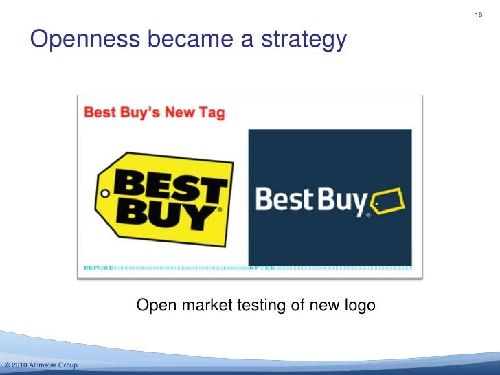 Openness became a strategy<br />16<br />Open market testing of new logo<br />