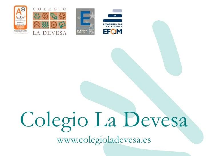 Colegio La Devesa    www.colegioladevesa.es