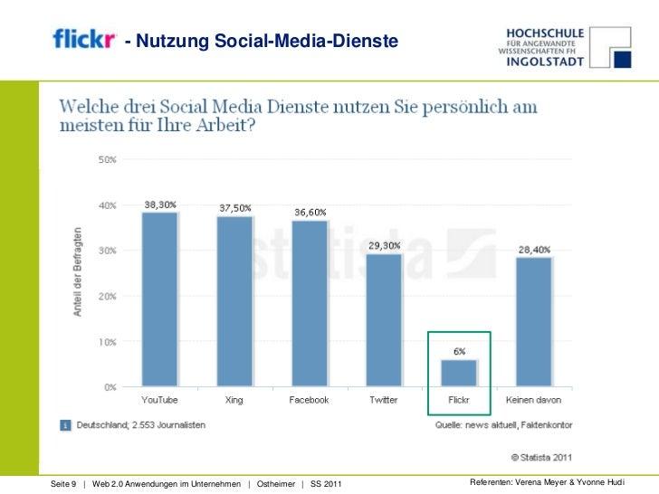 - Nutzung Social-Media-Dienste<br />Referenten: Verena Meyer & Yvonne Hudi<br />