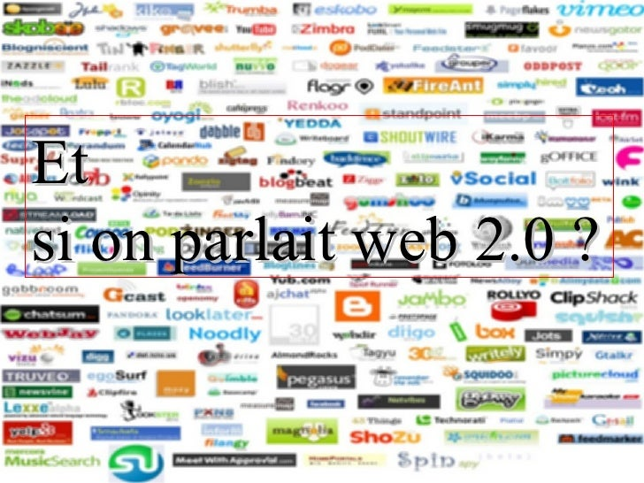 Et si on parlait web 2.0 ?