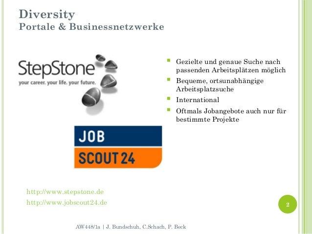 DiversityPortale & Businessnetzwerke                                                    Gezielte und genaue Suche nach   ...