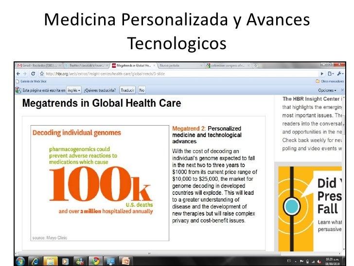 MedicinaPersonalizadayAvances          Tecnologicos