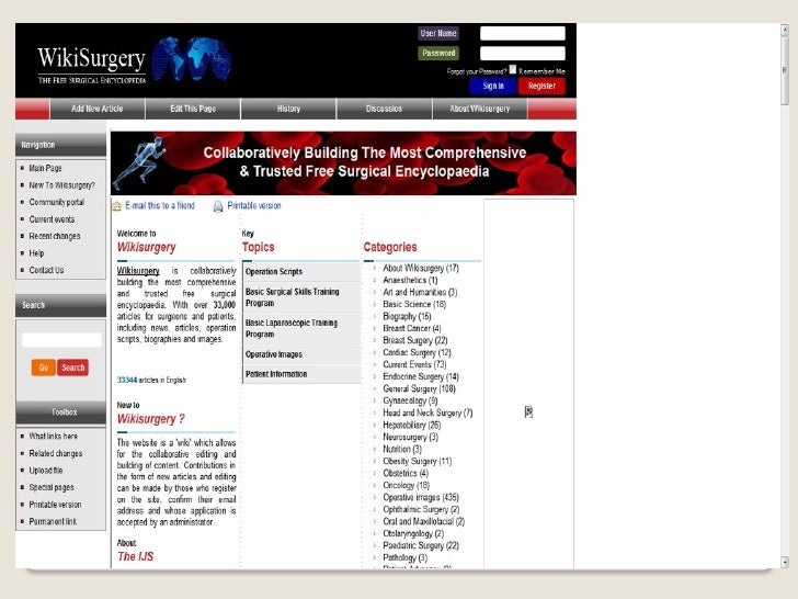 Canales para Buscar Información de porestudiantes de Medicina. 2010 de 1.Poco    importante a 5. Lo más importante interne...