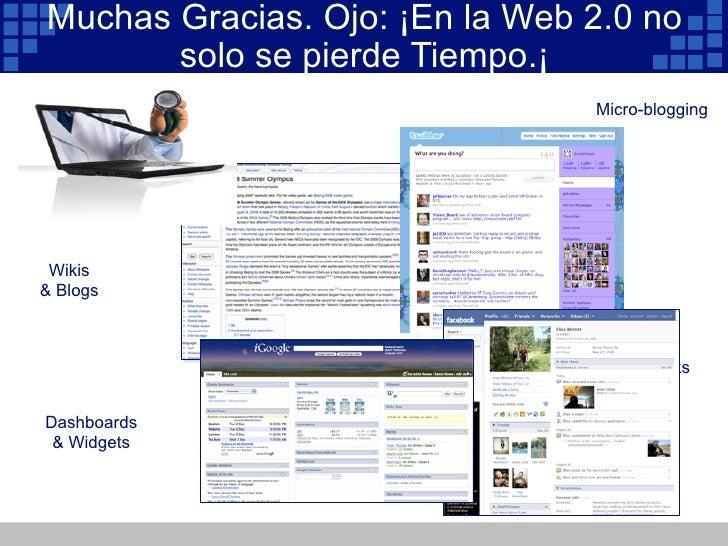 Web 2.0 y Medicina IV Congreso de Bioingieneria Universidad del Norte