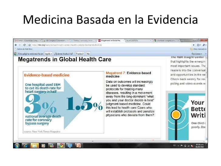 MedicinaBasadaenlaEvidencia
