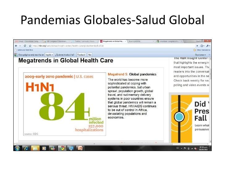 PandemiasGlobales‐SaludGlobal