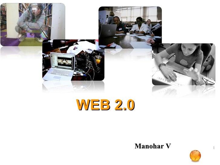 WEB 2.0 Manohar V