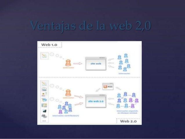 Ventajas de la web 2,0