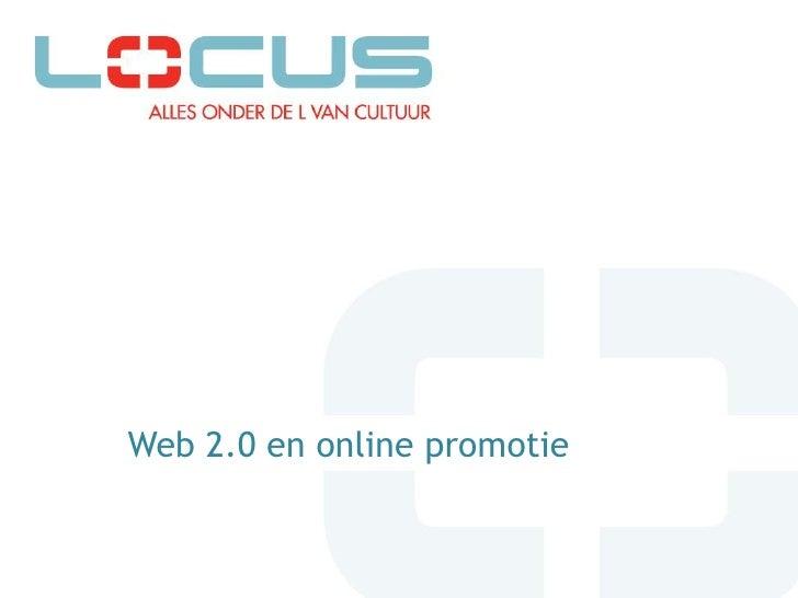 Web 2.0 en online promotie