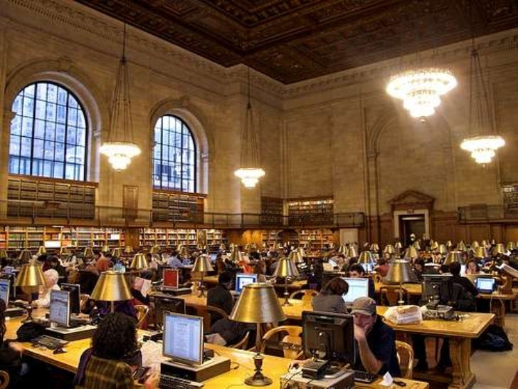 Inmediata</li></ul>VS.<br />Fuente: Pew Internet. How libraries can survive in the new media ecosystem?<br />