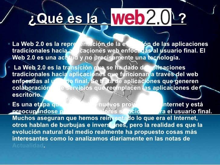 Web2.0 Revolucion Social De La Internet Slide 3