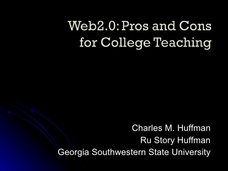 Charles M. Huffman Ru Story Huffman Georgia Southwestern State University
