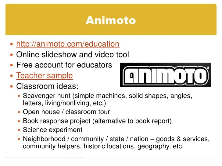 animoto book report Irubric b9w69a: rubric title animoto book trailer built by mkenneylms using irubriccom free rubric builder and assessment tools.