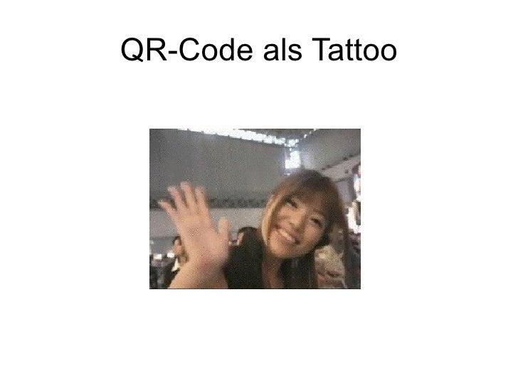 QR-Code als Tattoo