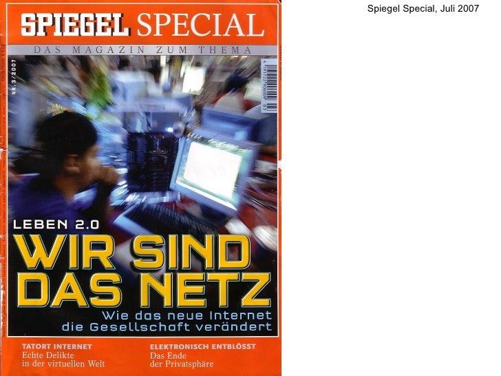 Spiegel Special, Juli 2007
