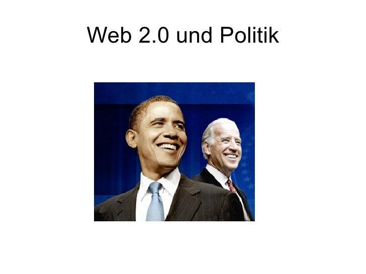 Web 2.0 und Politik