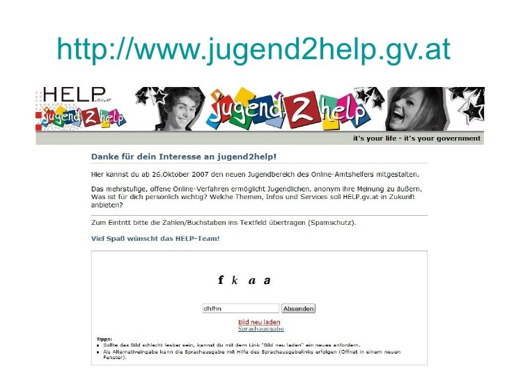 http://www.jugend2help.gv.at