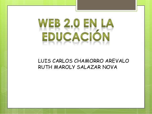 LUIS CARLOS CHAMORRO AREVALO RUTH MAROLY SALAZAR NOVA