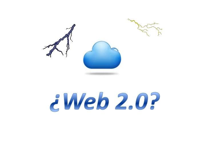¿Web 2.0?<br />