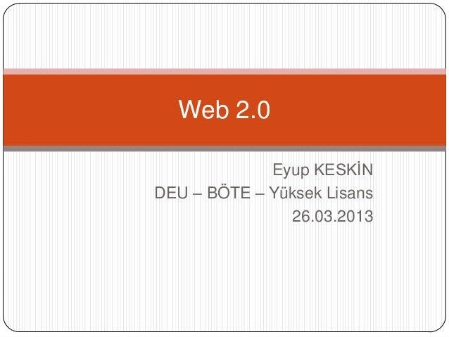 essays web 2.0