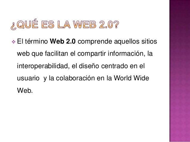 Web 1.0                      Web 2.0DoubleClick                  Google AdSenseOfoto                        FlickrTerraTv ...